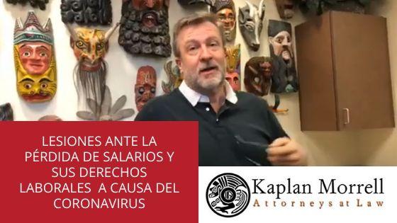 SUS DERECHOS LABORALES A CAUSA DEL CORONAVIRUS
