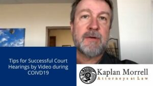 Successful Court Hearings by Video