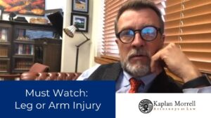 Injured arm or leg